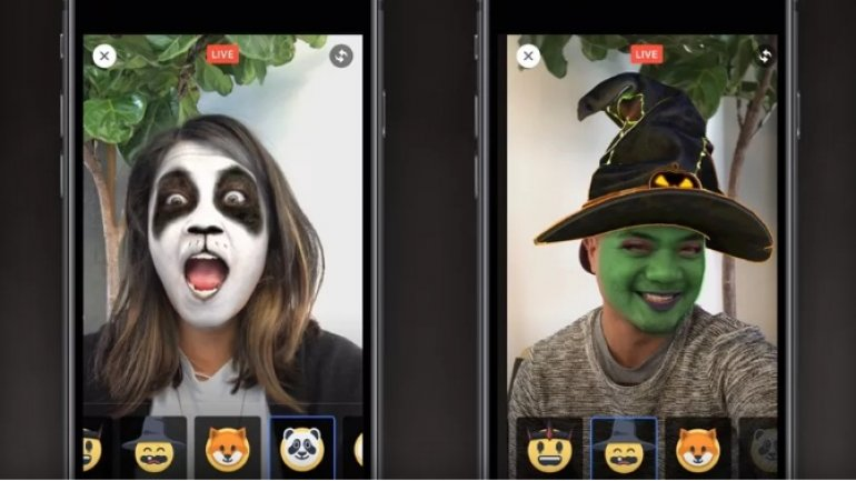 Facebook introduces Halloween-themed face filters for Live videos