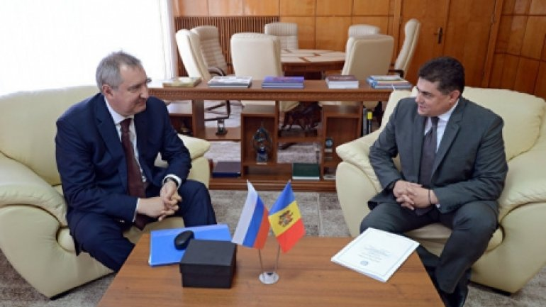 Octavian Calmic and Dmitry Rogozin discussed reestablishing relations with Moscow