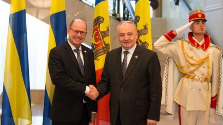 Moldovan president receives Swedish parliament speaker