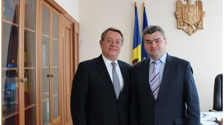 Moldovan deputy premier meets ambassador of Spain