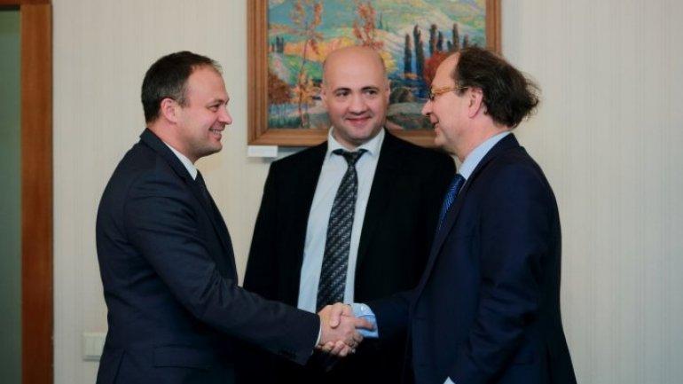 Moldovan speaker meets top European bank representatives