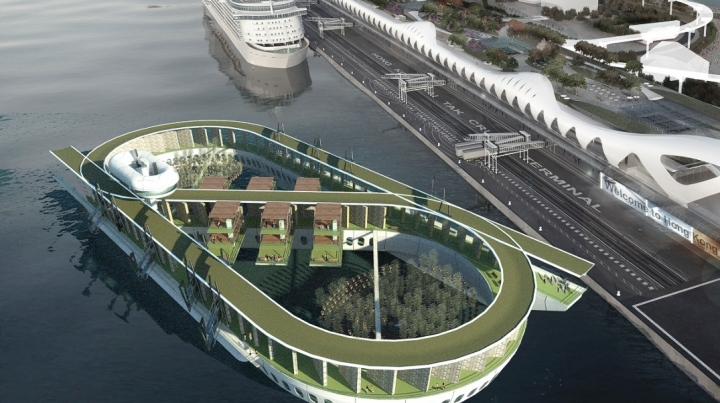 Asia's futuristic burial scenes: floating cemeteries and space burials