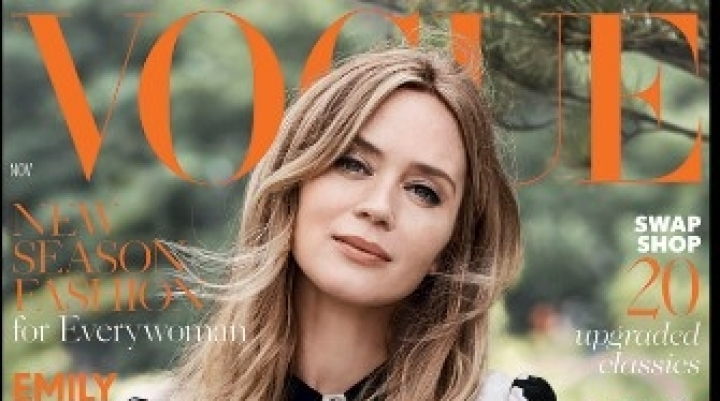 British Vogue ditches models for November issue