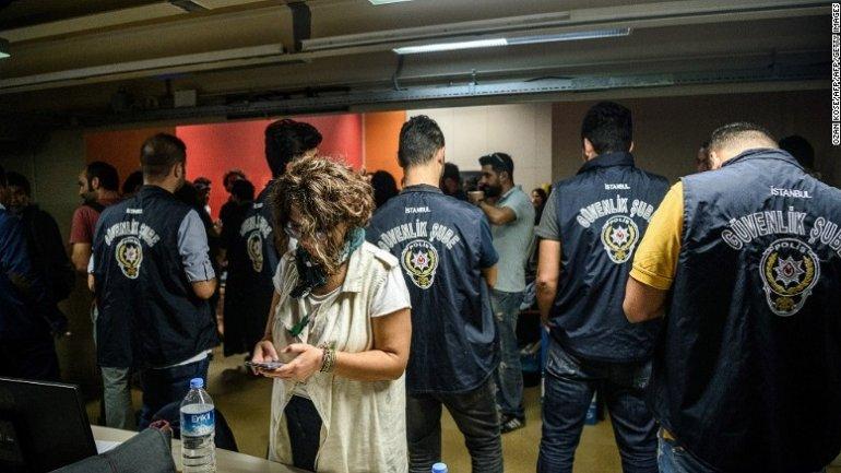 Turkey arrests 13 journalists after mass official firings