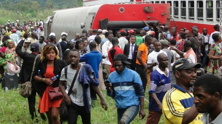 Dozens killed and hundreds injured in Cameroon train derailment
