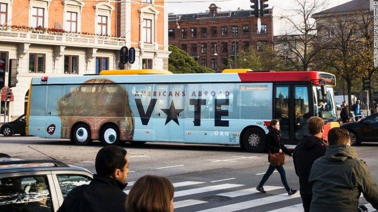 This Danish ad throws Donald Trump under the bus