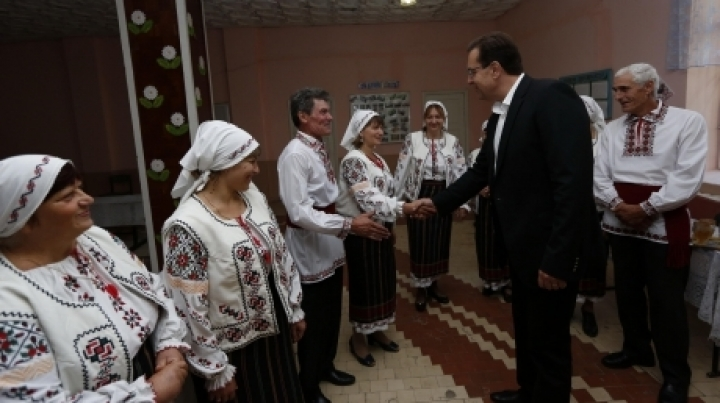Marian Lupu participated at International Day of Elderly in Leova district