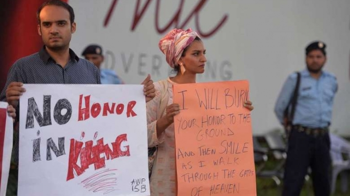 Pakistan adopts new law against honor killings, after high number of cases were registered in 2016