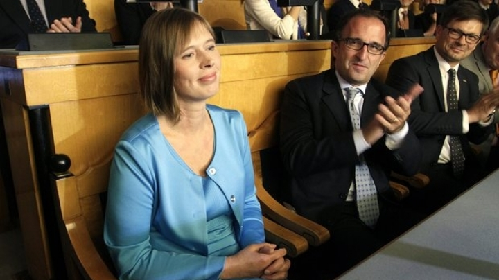 Estonian parliament selected first female president