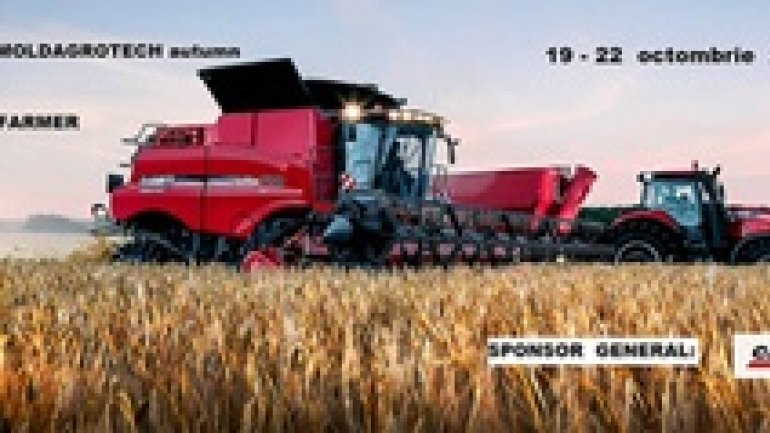 Over 400 companies participate in two agricultural exhibitions in Moldova