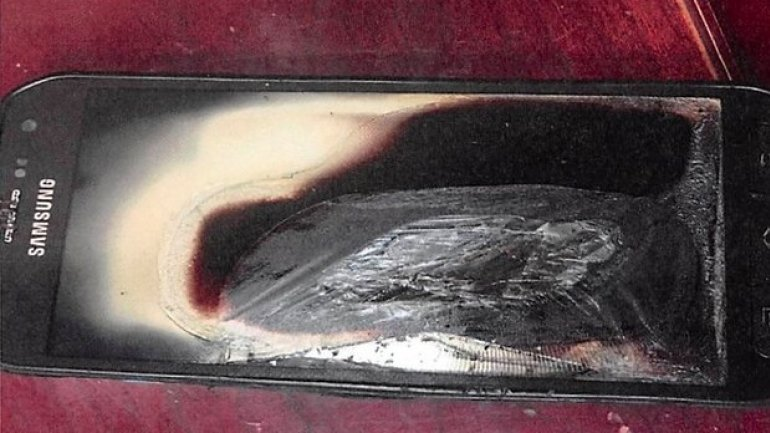 Samsung exploding phone issue extends past Note 7