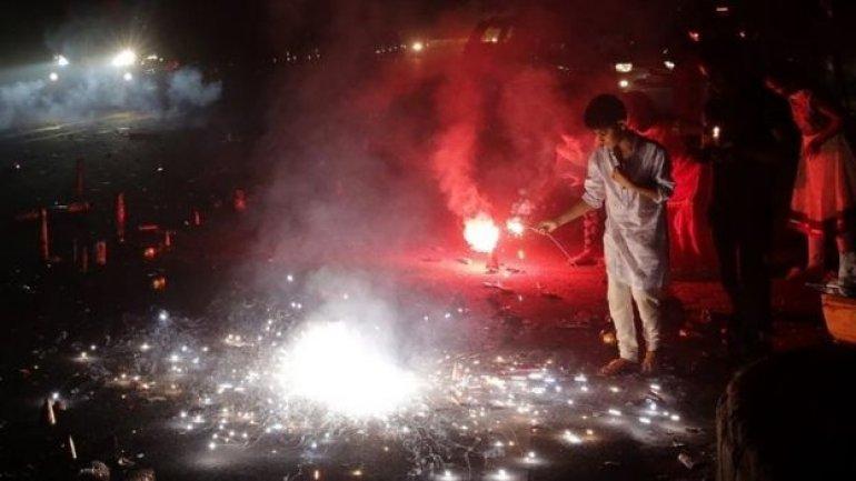Angry Indians tweet after Diwali fireworks choke Delhi