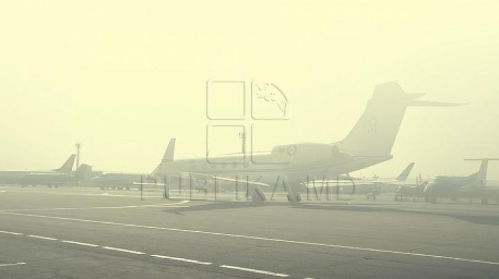 Fog keeps passenger jets on soil in Chisinau