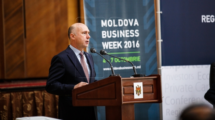 "Moldovan PM attends economic forum ""Moldova Business Week"" (Photos)"