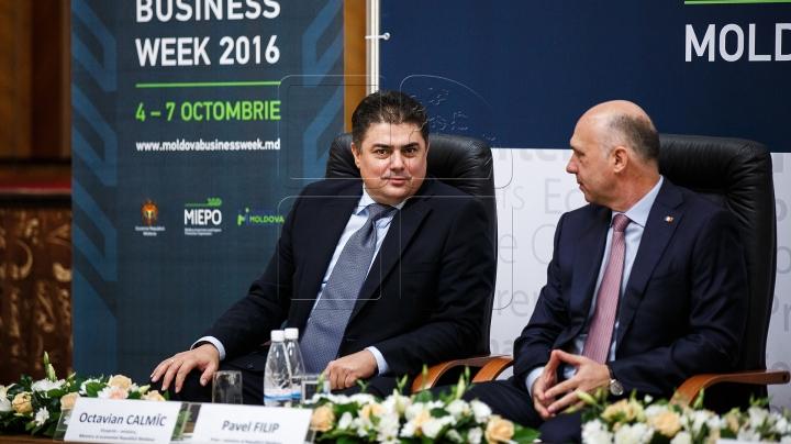 "Moldovan PM attends economic forum ""Moldova Business Week"" (Photos)"
