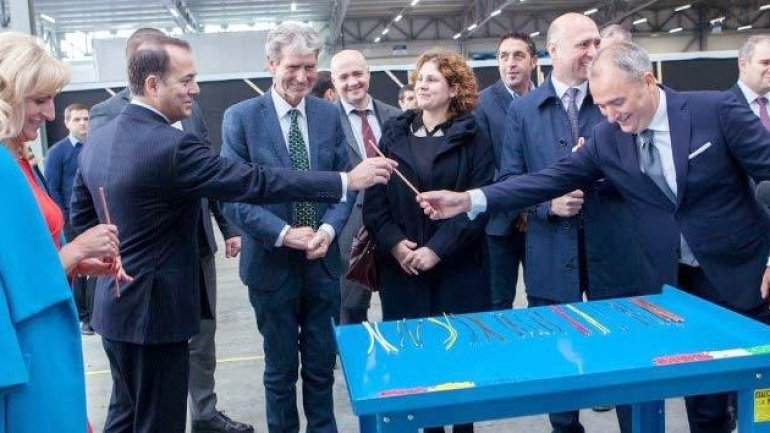 Italian company starts manufacturing auto cables in town near Chisinau