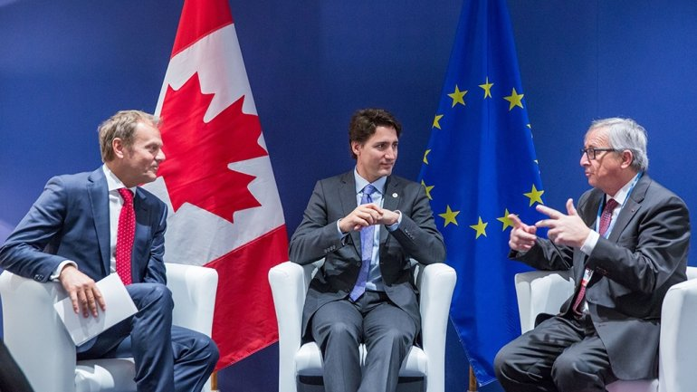 Eu And Canada Sign Free Trade Agreement To Be Ratified By 40