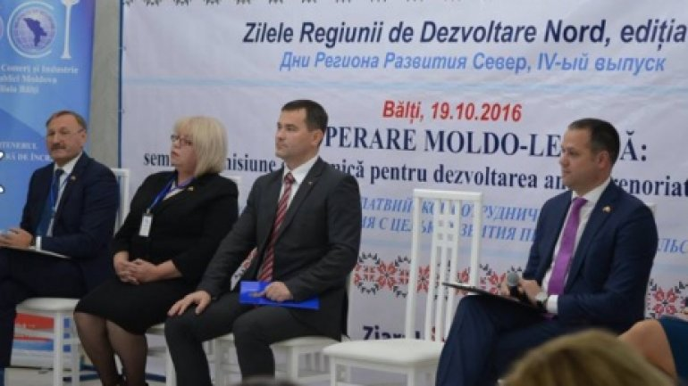 Moldo-Latvian reunion in Bălţi. Officials discussed about attracting European funds
