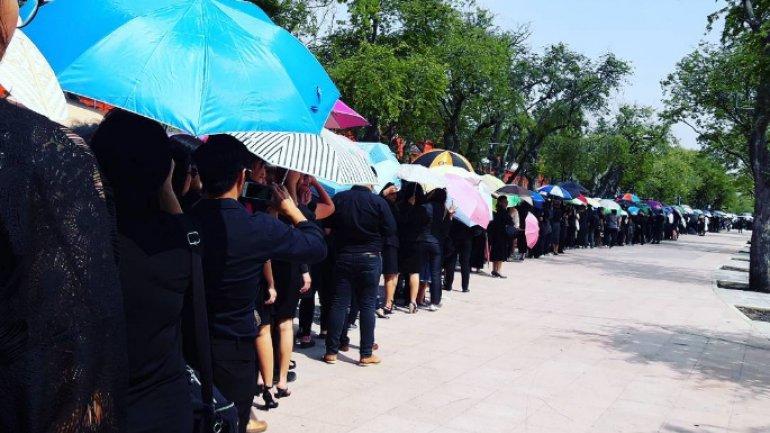 Bangkok prepares for funeral procession of King Bhumibol Adulyadej