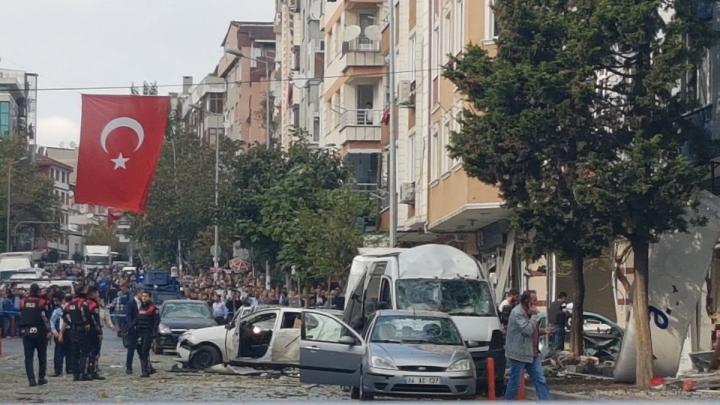 Explosion hits police station near Ataturk International Airport