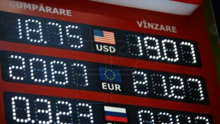 EXCHANGE RATE 13 OCTOBER 2016: Euro goes down in comparison to Moldovan leu