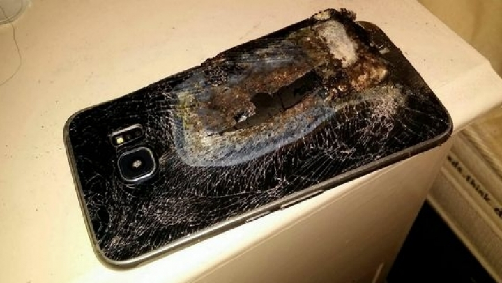 Replacement Samsung Galaxy Note 7 explodes, too