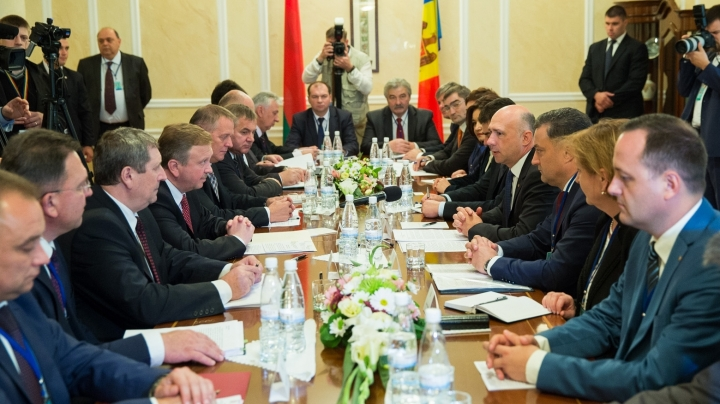 Pavel Filip at meeting with Andrei Kobeacov: Belarus is not only Moldova's partner, but also true friend