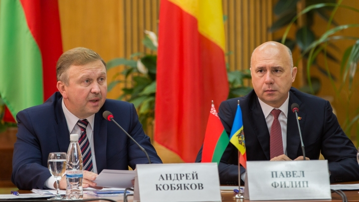 Moldovan, Belarusian premiers urge business people to boost cooperation