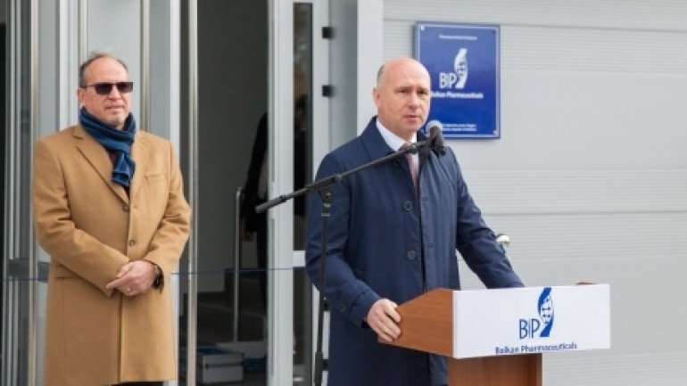 Pavel Filip: Government will support entrepreneurs who invest and create jobs in Moldova