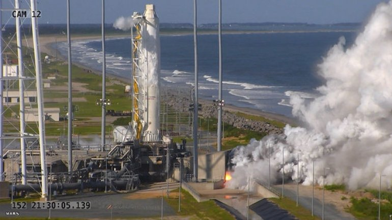 Private U.S. company successfully launches rocket with engines made in Ukraine, Russia