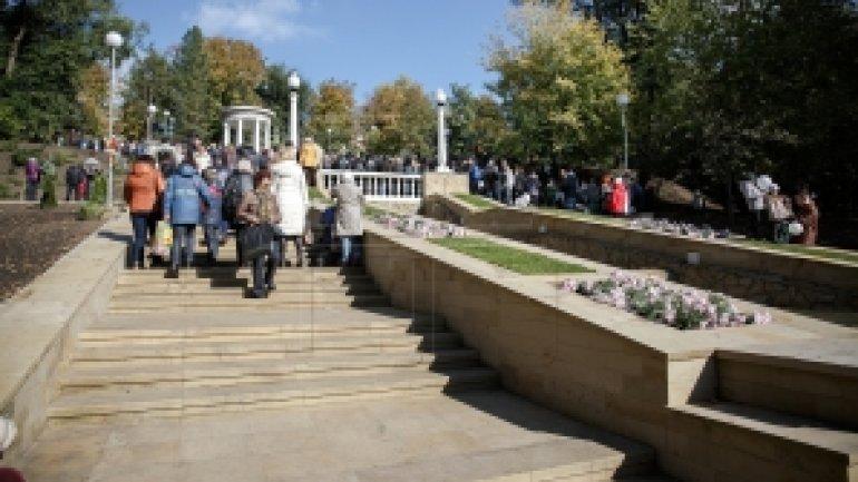 Soviet-era-architecture Waterfalls Stair and Rotonda INAUGURATED in Chisinau park (PHOTO)