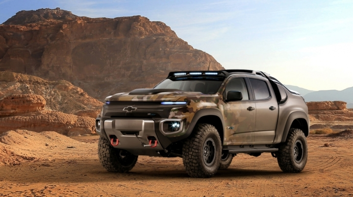 Hydrogen-powered truck could go on U.S. military missions