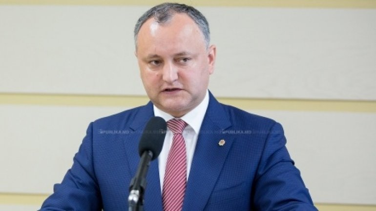 """If Igor Dodon wins the election, he will divert European course and will turn Moldova in a federation"""