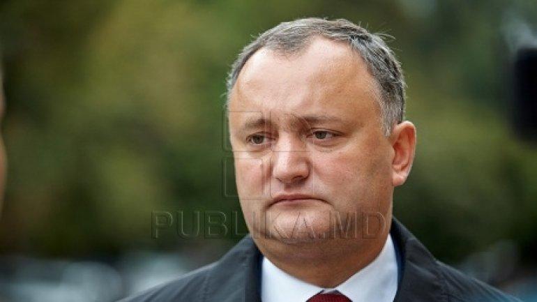 Igor Dodon: A new important beginning for Moldova