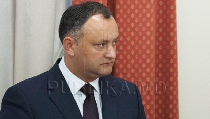 Socialiasts' Igor Dodon wants to ban unionism with Romania, if elected head of state