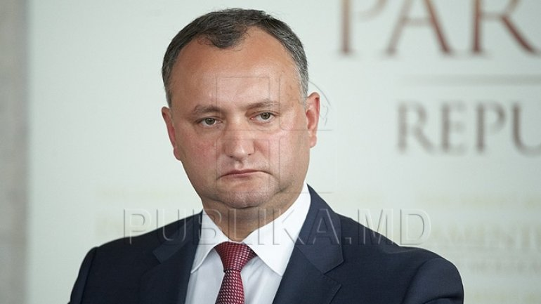Socialist Igor Dodon, sure in his victory in first round of elections