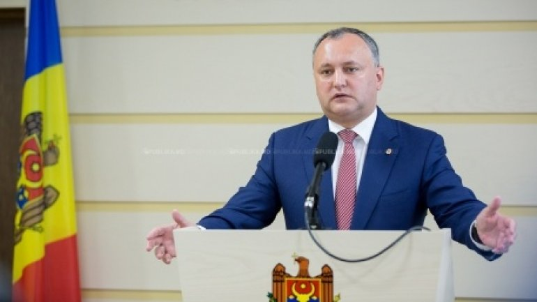 Igor Dodon vows to cancel Association Agreement with EU. Will turn Moldova to federation