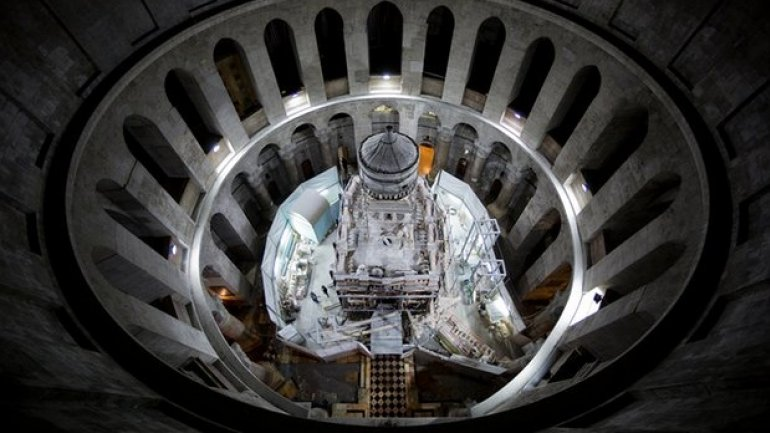 Jesus's tomb in Jerusalem exposed by conservationists