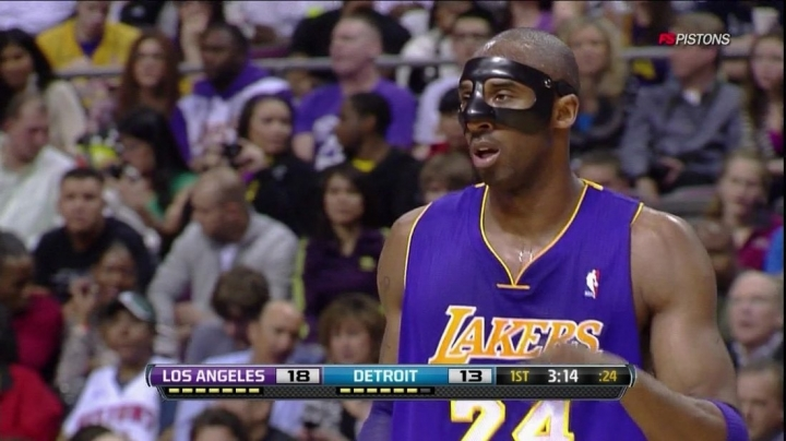 Kobe Bryant face mask is at auction for over $15000