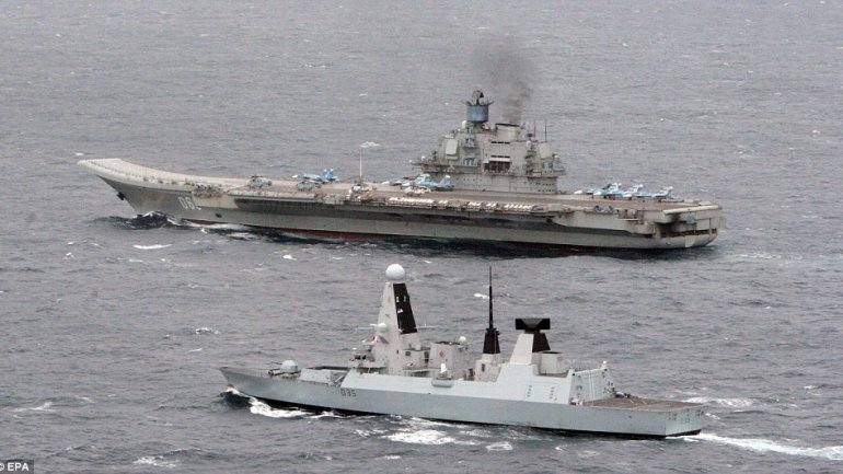 Admiral Kuznetsov aircraft carrier runs out of fuel. Spain, reluctant to allow its refill