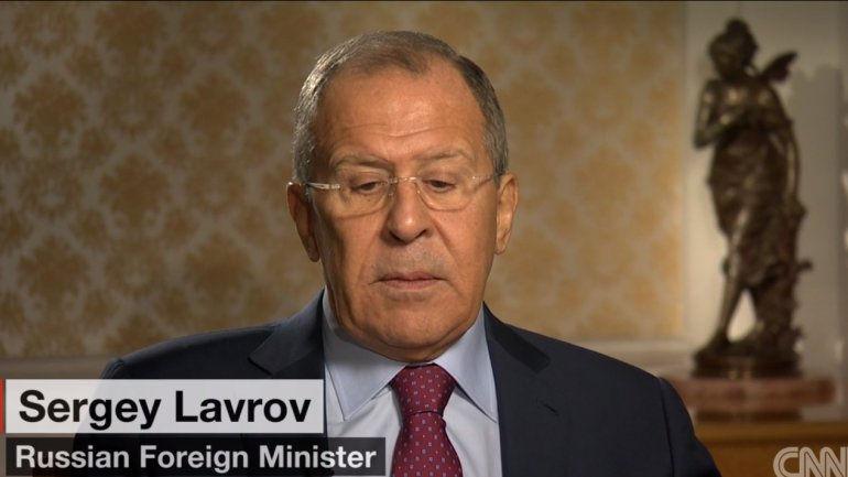 Foreign Minister Sergey Lavrov denies Russian involvement in US election