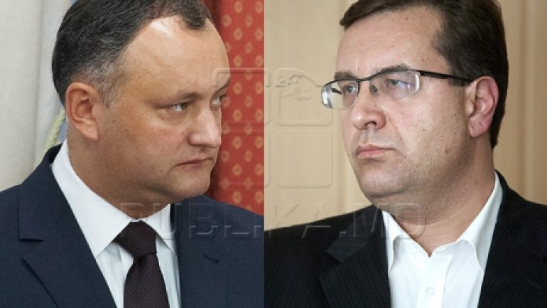 Presidential elections: Igor Dodon thinks Marian Lupu will be his opponent in second run