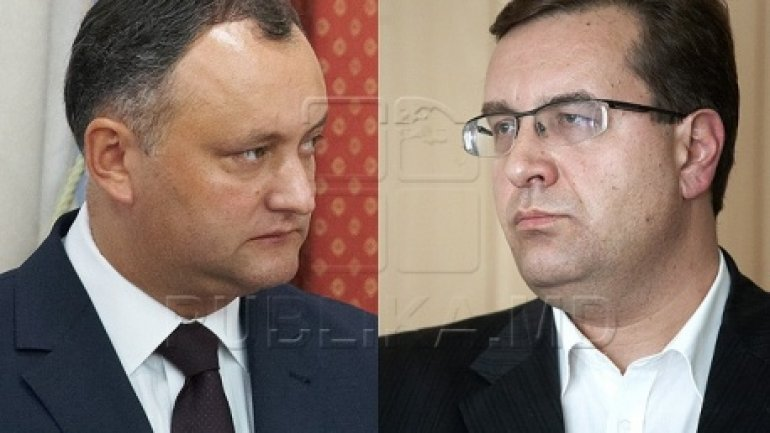 Igor Dodon accepts Marian Lupu's challenge to participate in TV debates