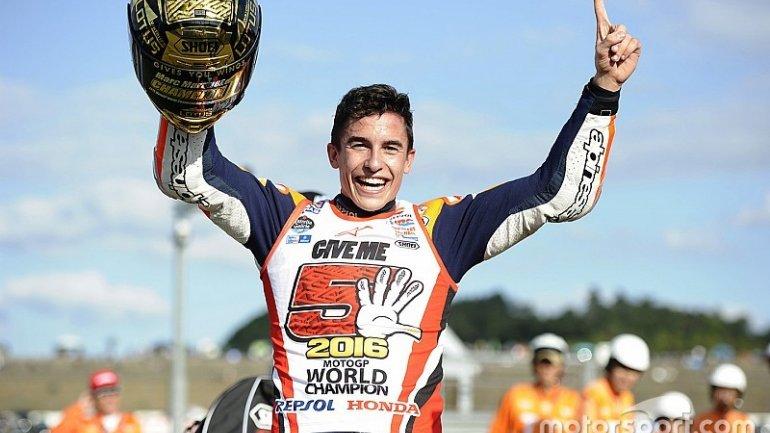 Marc Marquez wins third MotoGP crown in Motegi, Japan