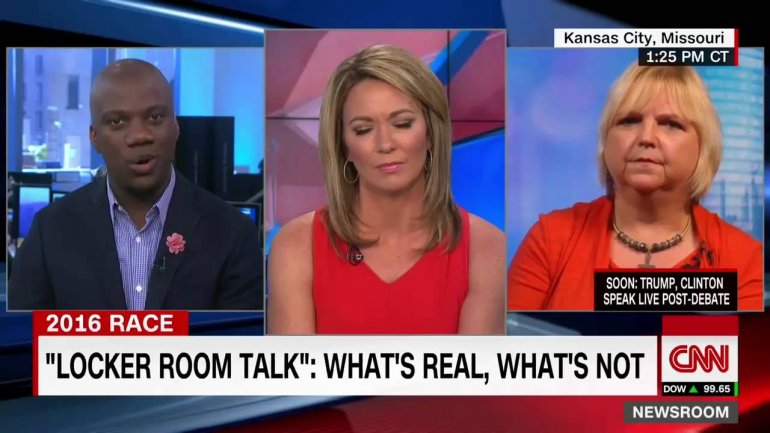 NO COMMENT: Trump supporter leaves anchor speechless during interview
