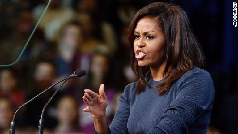 Full transcript of Michelle Obama's powerful New Hampshire speech