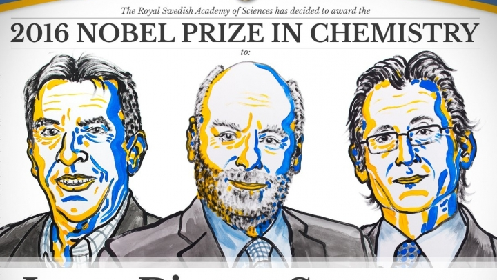 Nobel Prize 2016 in chemistry was awarded to three scientists for work on molecular machines