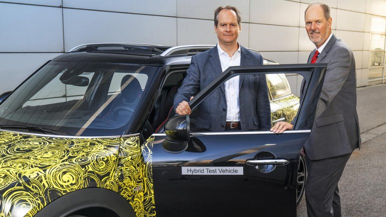 First hybrid electric Mini confirmed for 2017