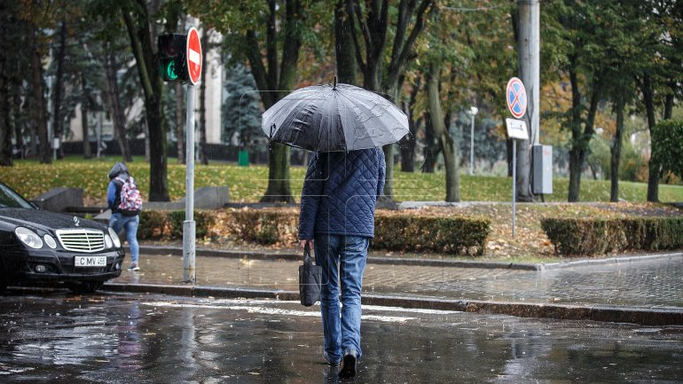 Yellow warning of heavy showers and strong wind for southern part of Moldova