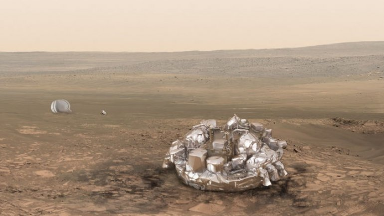 Lost completely. Europeans get no signal from their Mars lander